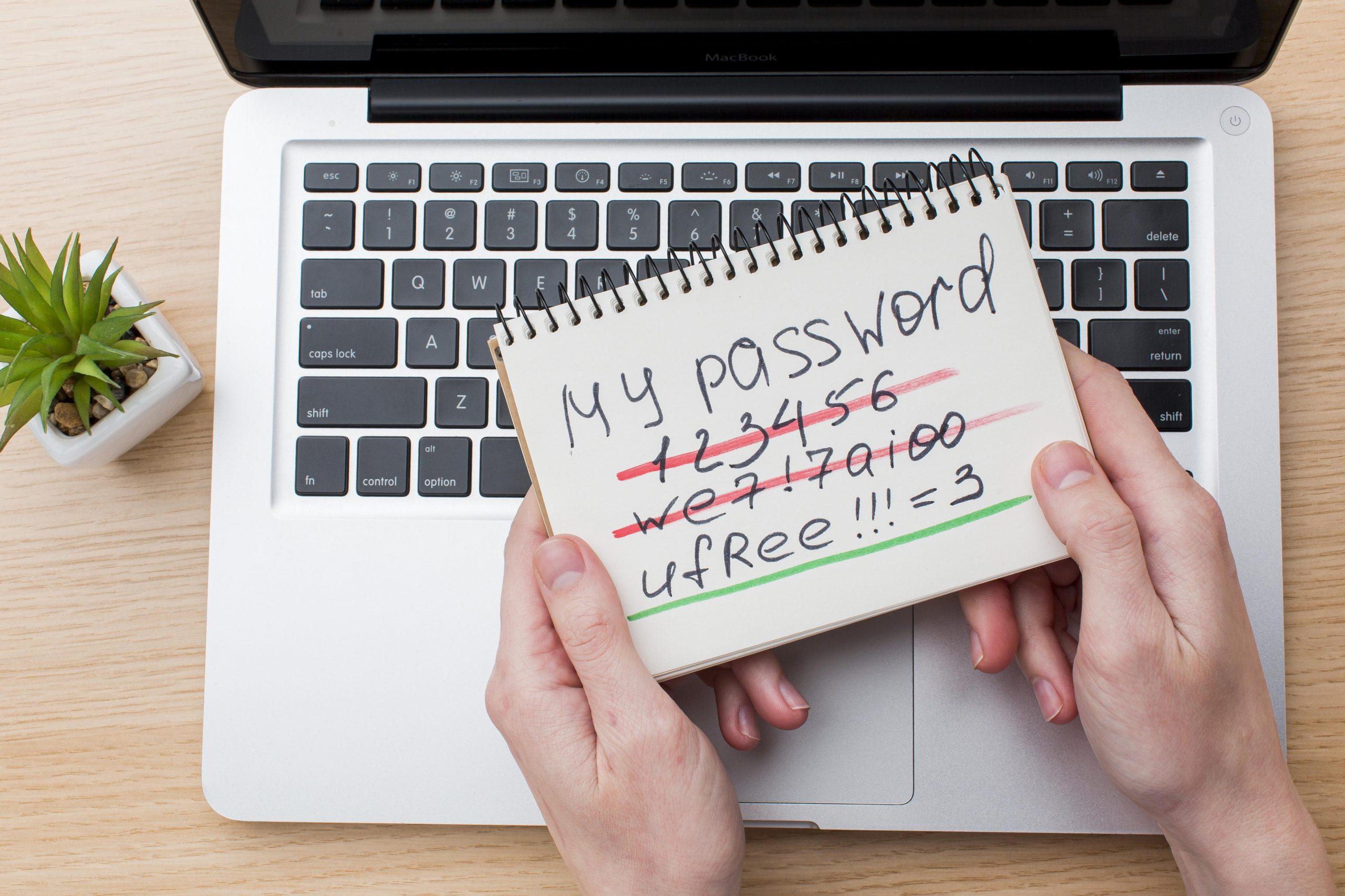 Sicheres Passwort - Cyberkriminalität